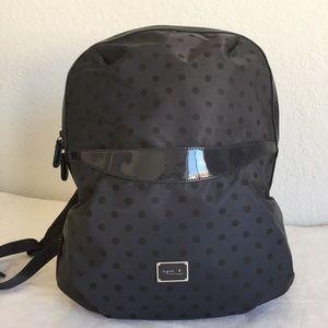 Agnes b voyage polka dot backpack
